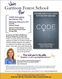 Feb. 22 Screening of CODE: Debugging the Gender Gap
