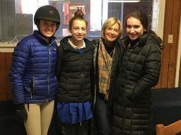 Dr. Marjorie Sugarman Visits Equestrian Institute