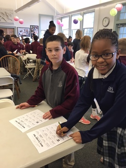 Lower School Partners with Boys' Latin on BizTown