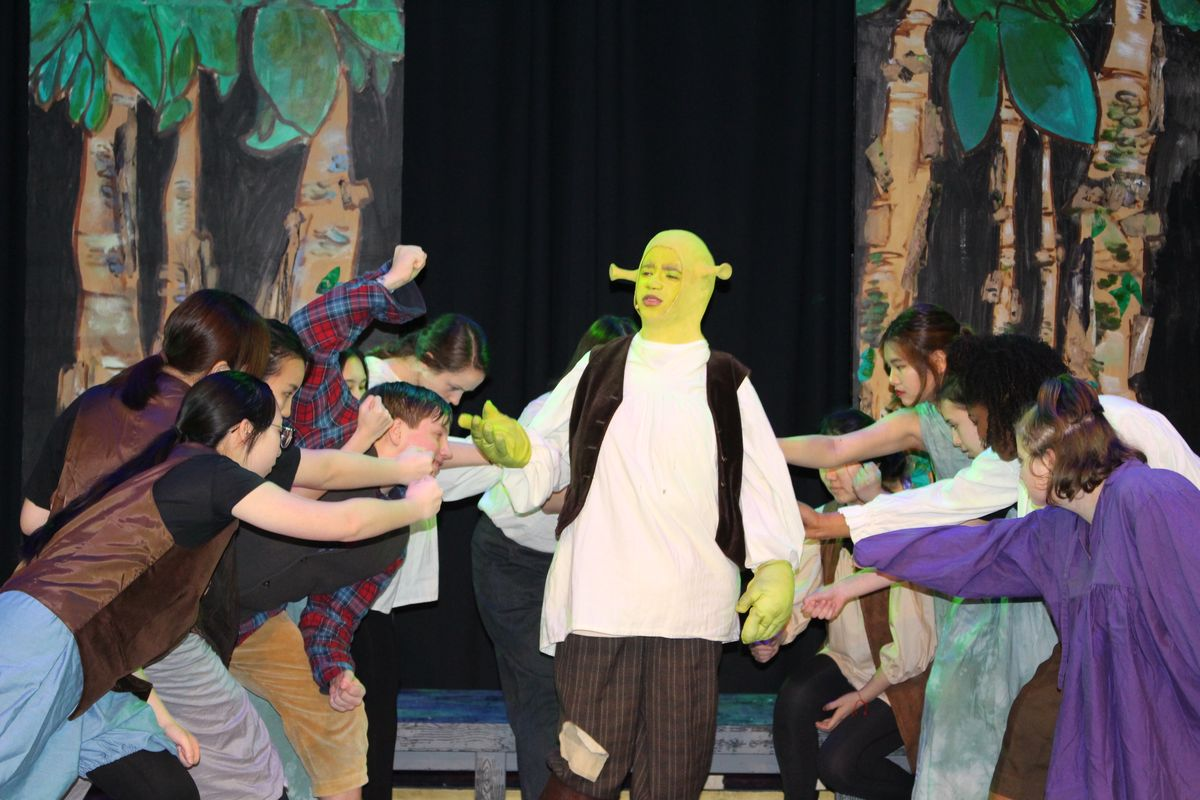 Upper School's Shrek Wows Crowds