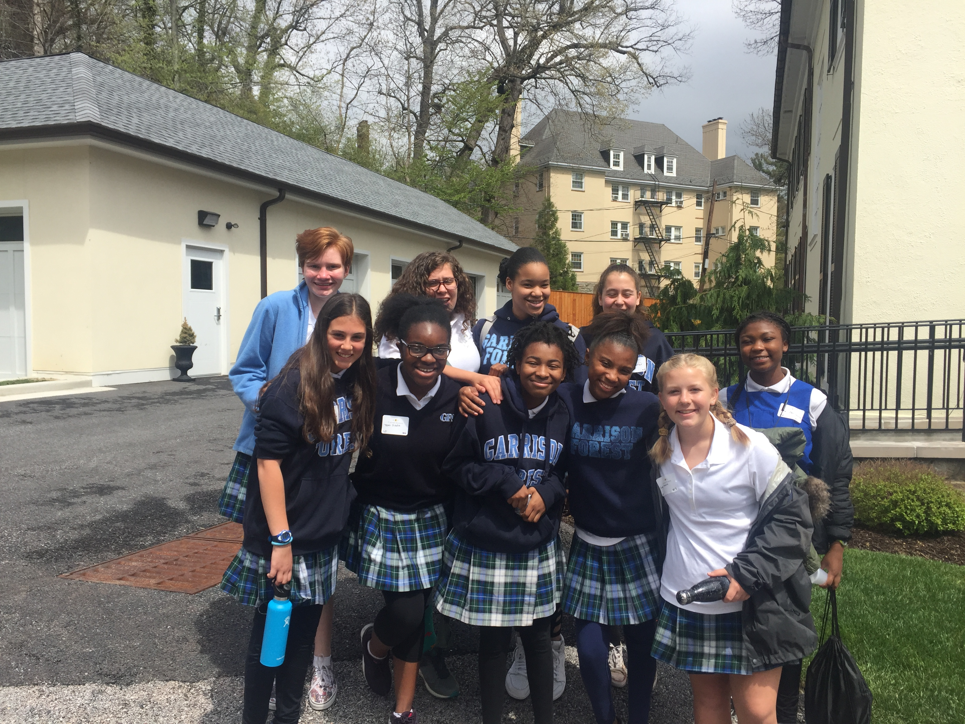 Middle school learns the blueprint for change post ten gfs students attended the blueprint for change middle school student leadership in diversity conference at calvert school after a keynote speech by malvernweather Gallery